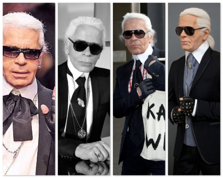 karl lagerfeld uniform